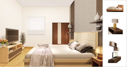 Online Bedroom Design sweet Kataak